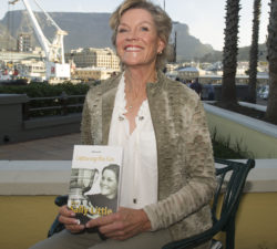 """CAPE TOWN, SOUTH AFRICA - OCTOBER 04: Sally Little during the Launch of """"Capturing the Fire"""" - The Sally Little Story at The Table Bay Hotel on October 04, 2016 in Cape Town, South Africa. (Photo by Peter Heeger/Gallo Images)"""
