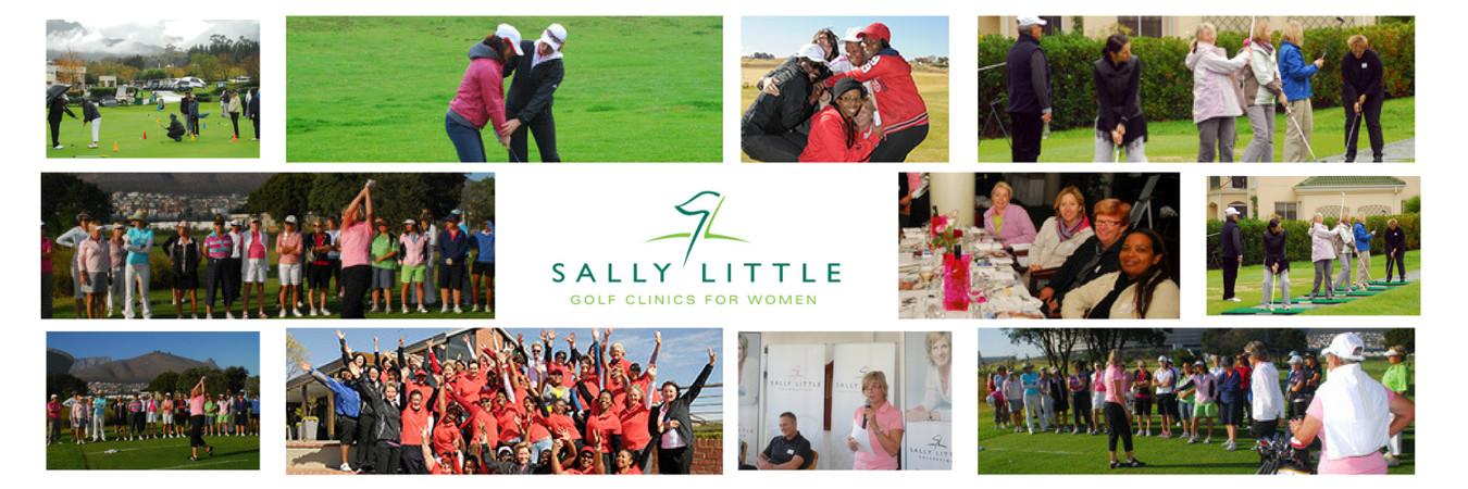Sally Little Banner Golf Clinics for Women