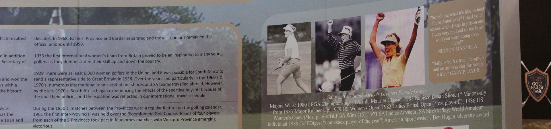 Sally Little Inaugurated into the Golf Hall of Fame