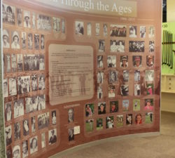 A wall dedicated to extraordinary women through the ages